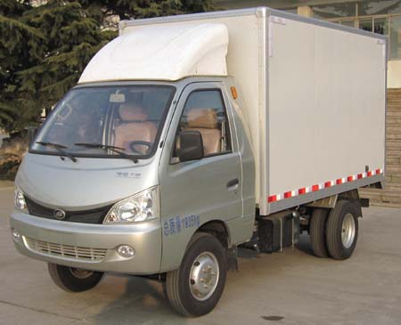 hb2305x2型厢式低速货车图片