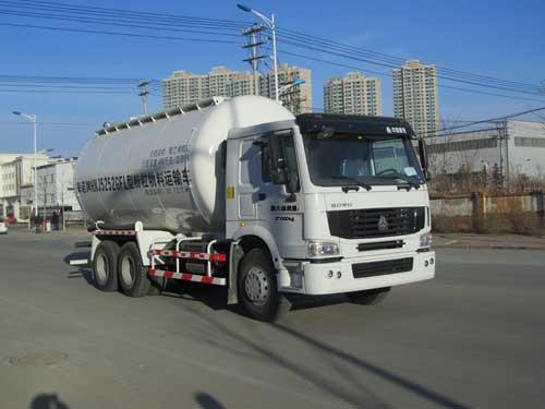 亚州色囹hnj_hnj5252gfl型低密度粉粒物料运输车