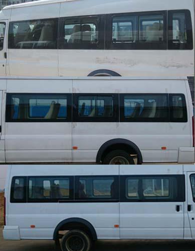 江铃全顺牌jx6650t-s4型客车