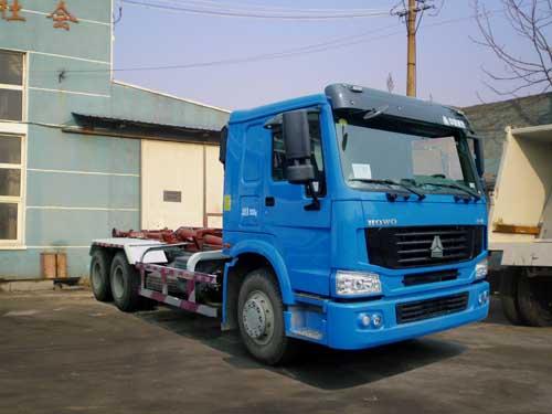 03 qdz5252zxxzh型车厢可卸式垃圾车