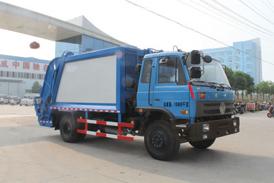 东风145压缩式垃圾车