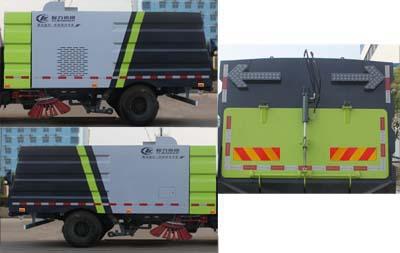 CLW5070TSL4扫路车