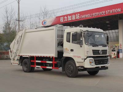 东风6.1吨压缩式垃圾车