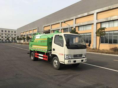 5070GQWEV型清洗吸污车