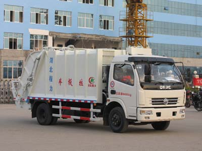 东风多利卡压缩式垃圾车