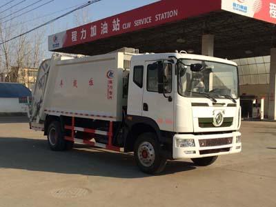 东风6.6吨压缩式垃圾车