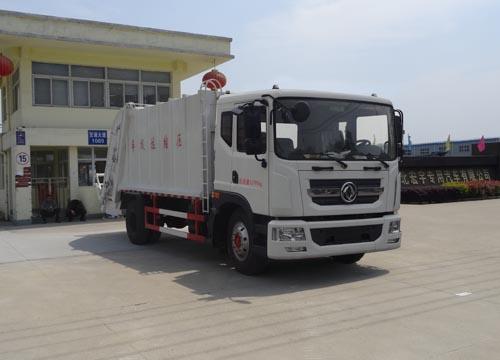 东风国五压缩式垃圾车