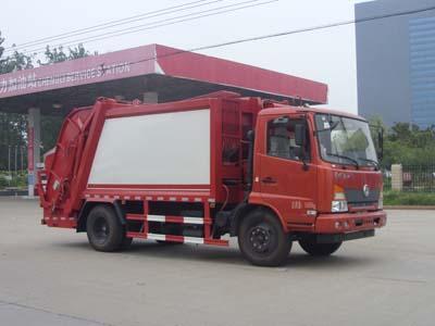 东风嘉运6.4吨压缩式垃圾车