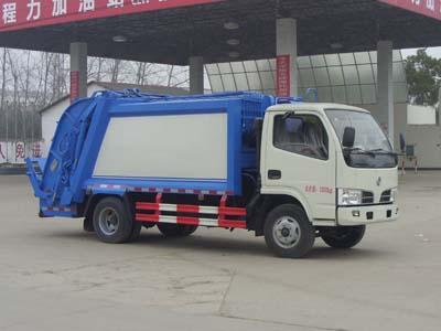 东风凯普特1.8吨压缩式垃圾车
