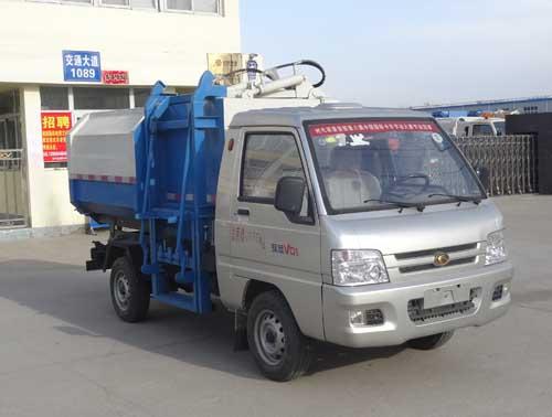 福田国五压缩式对接垃圾车