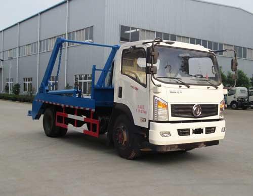 东风国五摆臂式垃圾车