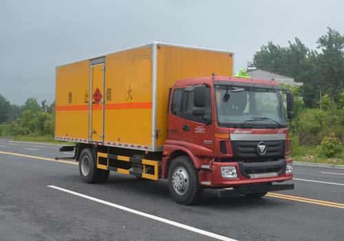 福田欧曼8.67吨爆破器材运输车