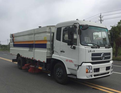 东风天锦扫路车(大型,国五)