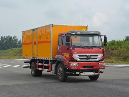 重汽斯太尔8.63吨爆破器材运输车