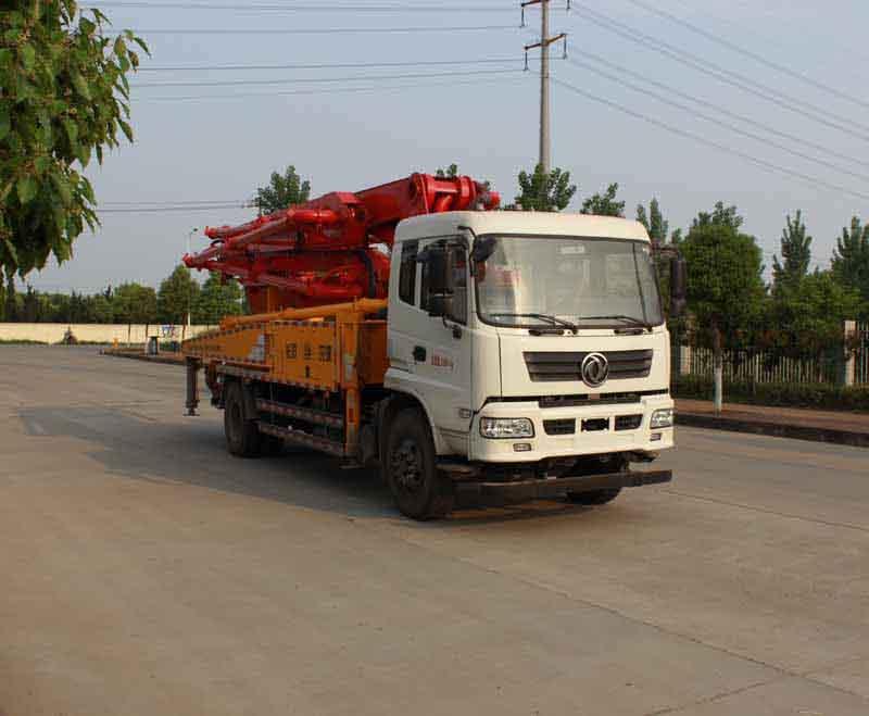 东风混凝土泵车