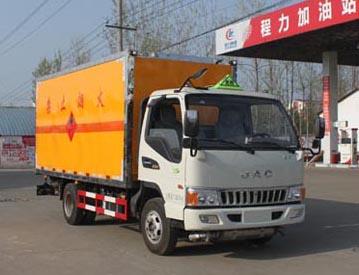 江淮黄牌气瓶运输车