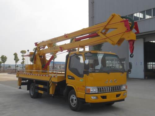江淮单排驾驶室18米高空作业车