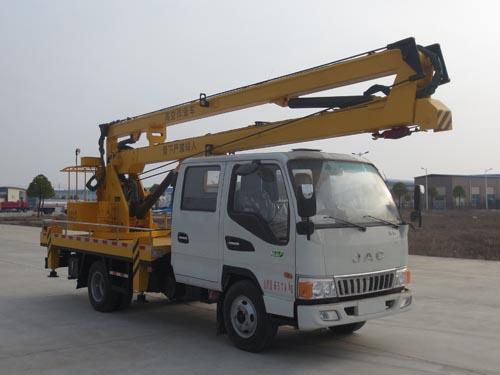 江淮排半驾驶室16米高空作业车