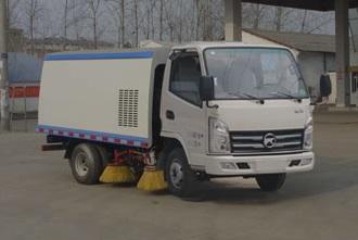 CLW5040TSLK5型扫路车