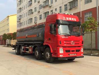 三环前四后六19吨腐蚀性物品罐式运输车