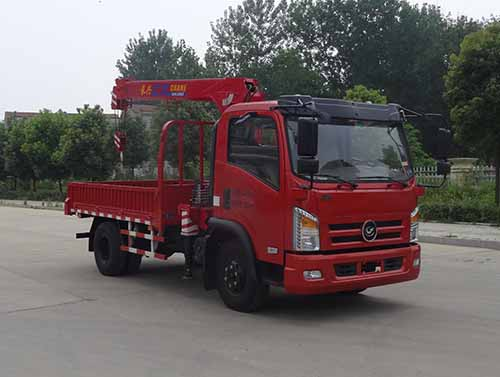 HYS5040JSQD5随车起重运输车