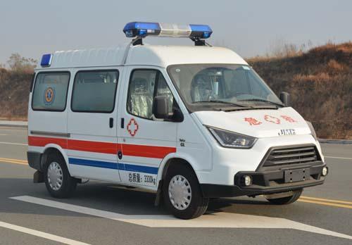 江铃特顺长轴高顶救护车