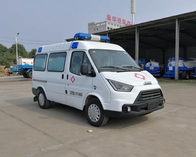 江铃特顺120短轴救护车