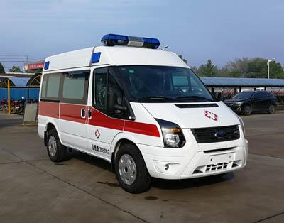 福特全顺V348短轴救护车
