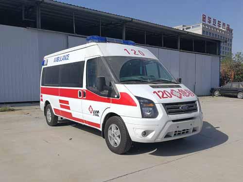 福特全顺V348运送型医疗救护车
