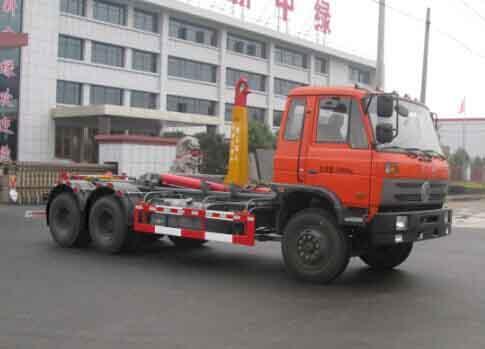 中洁牌XZL5252ZXX5型车厢可卸式垃圾车