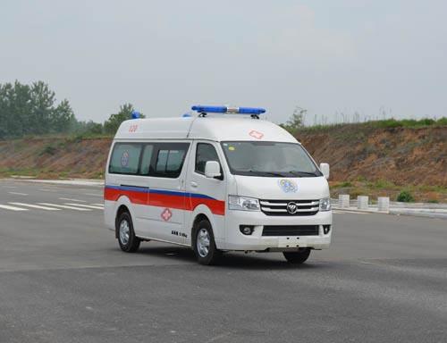 福田风景G7救护车价格/图片/厂家销售