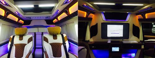 JHW5031XSW奔驰威霆高端商务车