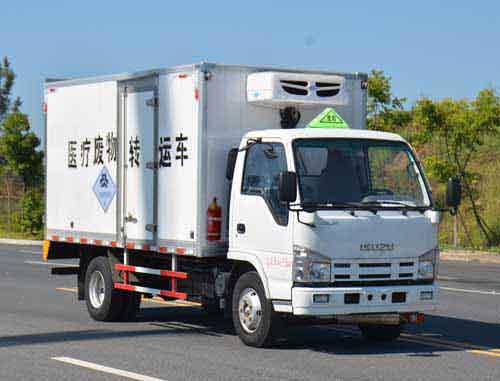 庆铃五十铃医疗废物运输