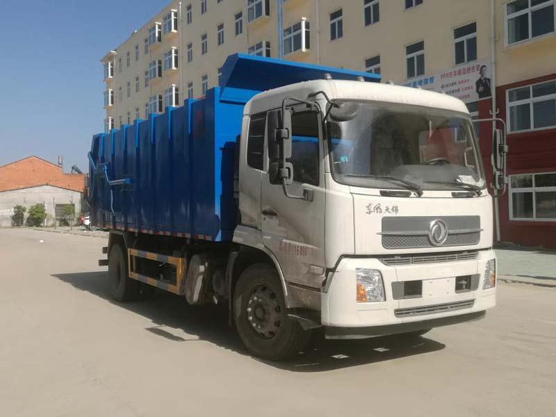 CLW5160ZDJD6压缩式对接垃圾车