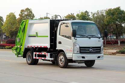 CLW5040ZYSKL6压缩式垃圾车