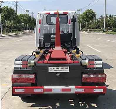 帝王環衛牌HDW5044ZXXH6型車廂可卸式垃圾車-后部照片