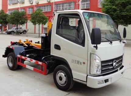 CLW5035ZXXK6车厢可卸式垃圾车