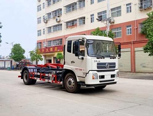 CLW5180ZXXD6车厢可卸式垃圾车