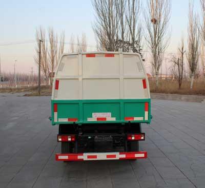 寧汽牌HLN5031ZLJSC6型自卸式垃圾車-后部照片