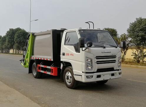 CLW5041ZYS6CD压缩式垃圾车