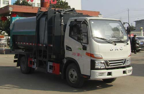 CLW5070ZZZ6SL自装卸式垃圾车