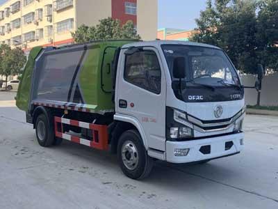 CLW5075ZYS6压缩式垃圾车