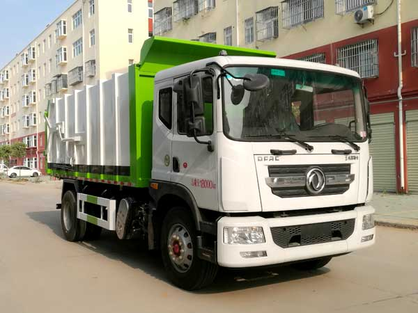CLW5181ZDJ6压缩式对接垃圾车
