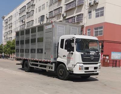 东风天锦6.8米畜禽运输车