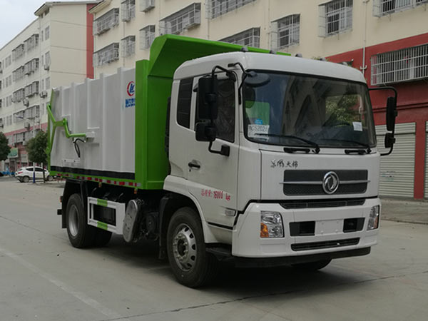 CLW5161ZDJD6压缩式对接垃圾车