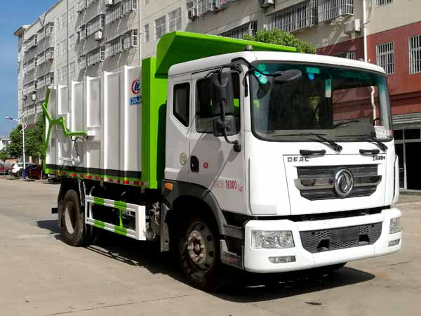 CLW5180ZDJ6压缩式对接垃圾车