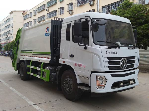 CLW5182ZYSD6压缩式垃圾车