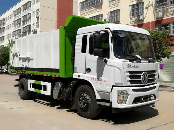 CLW5181ZDJD6压缩式对接垃圾车