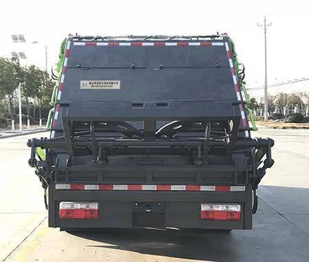 帝王環衛牌HDW5120ZYSE6型壓縮式垃圾車-后部照片