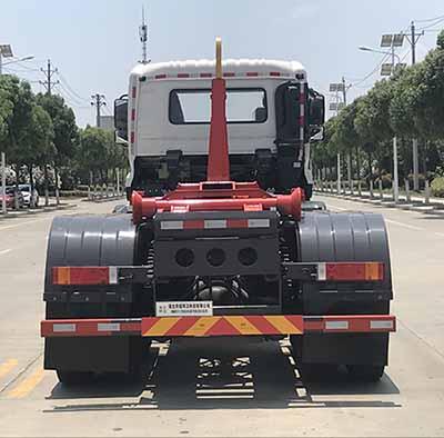 帝王環衛牌HDW5311ZXXD6型車廂可卸式垃圾車-后部照片